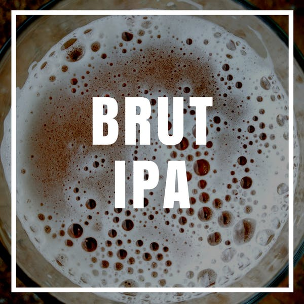 Brut IPA w/ Carrot