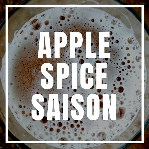 Apple Spice Saison